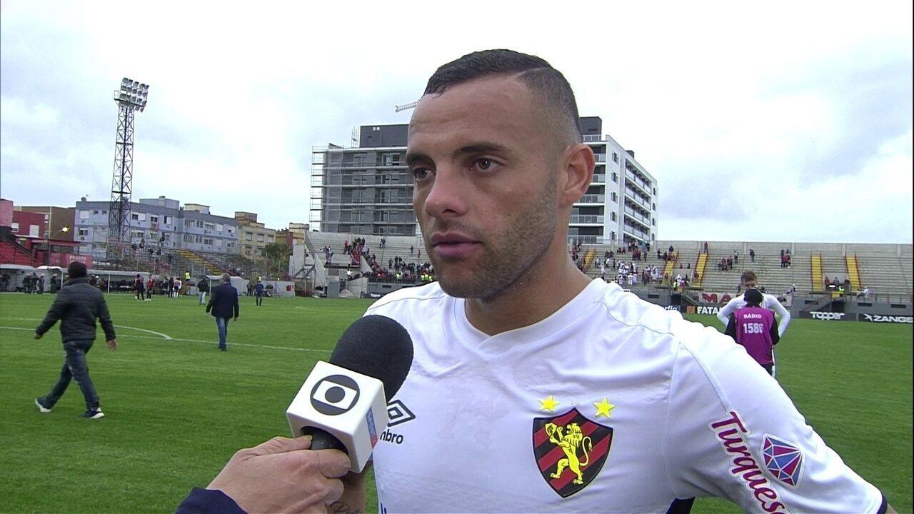 Guilherme analisa mais um empate do Sport na Série B