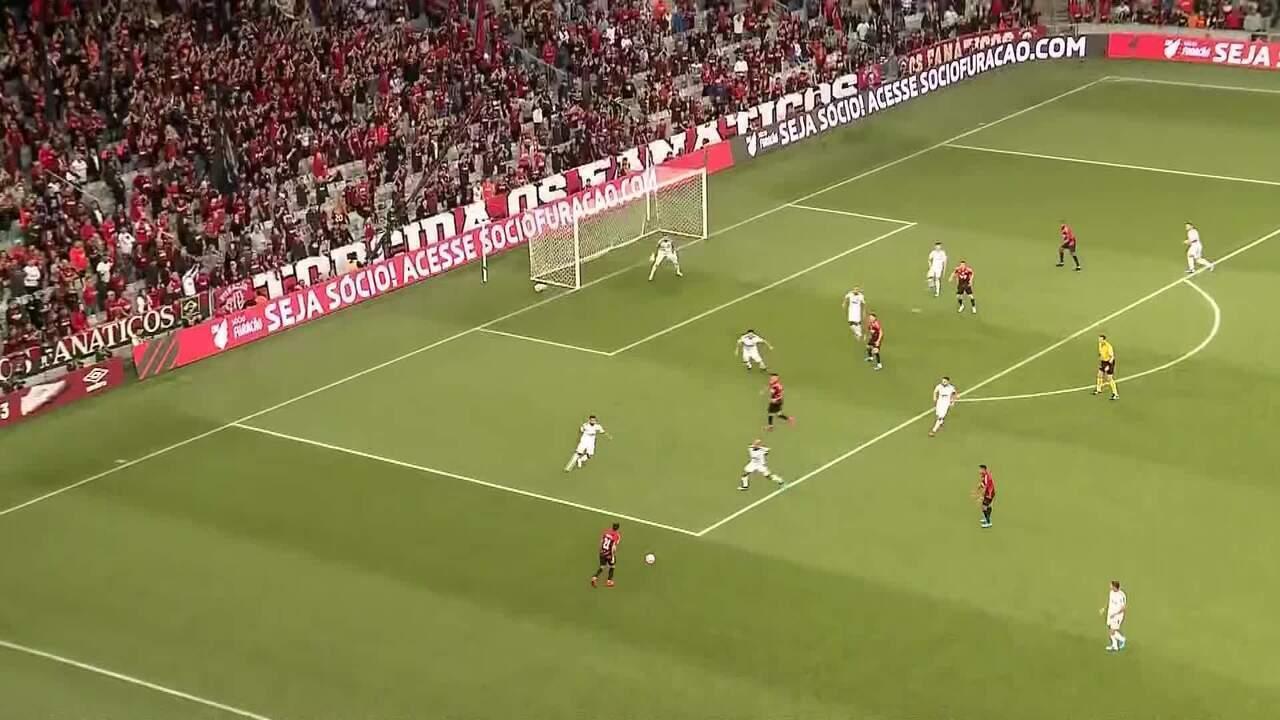 Melhores momentos: Athletico-PR 1 x 1 Palmeiras pela 27ª rodada do Brasileirão