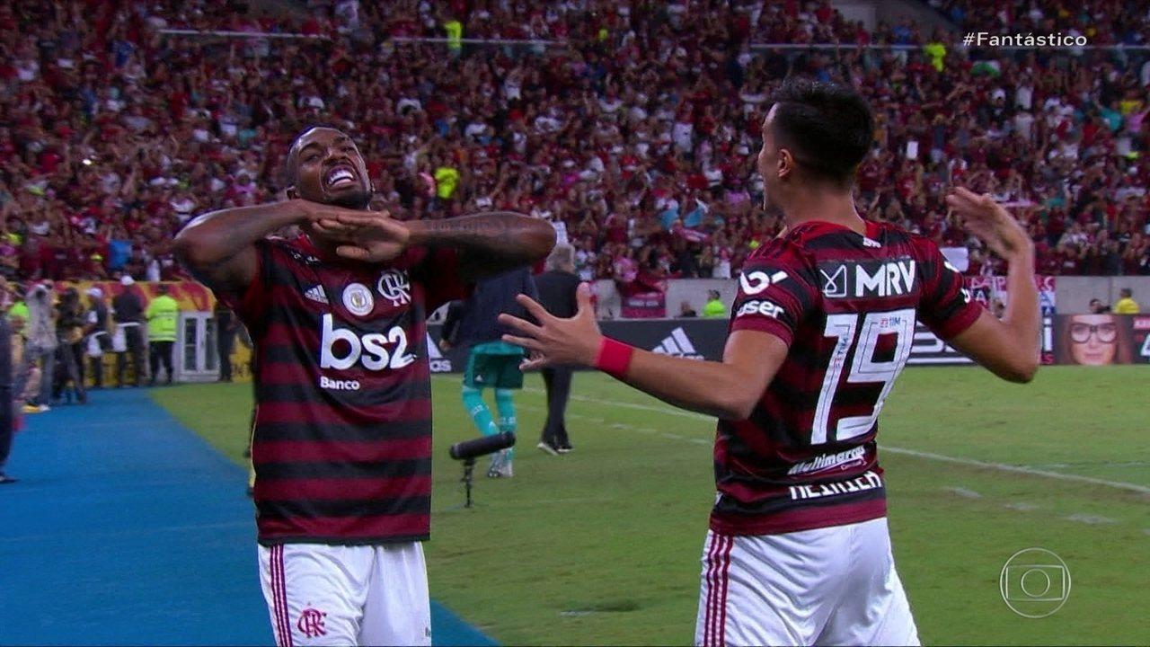 Flamengo vence clássico carioca e abre 10 pontos de dianteira no Brasileirão
