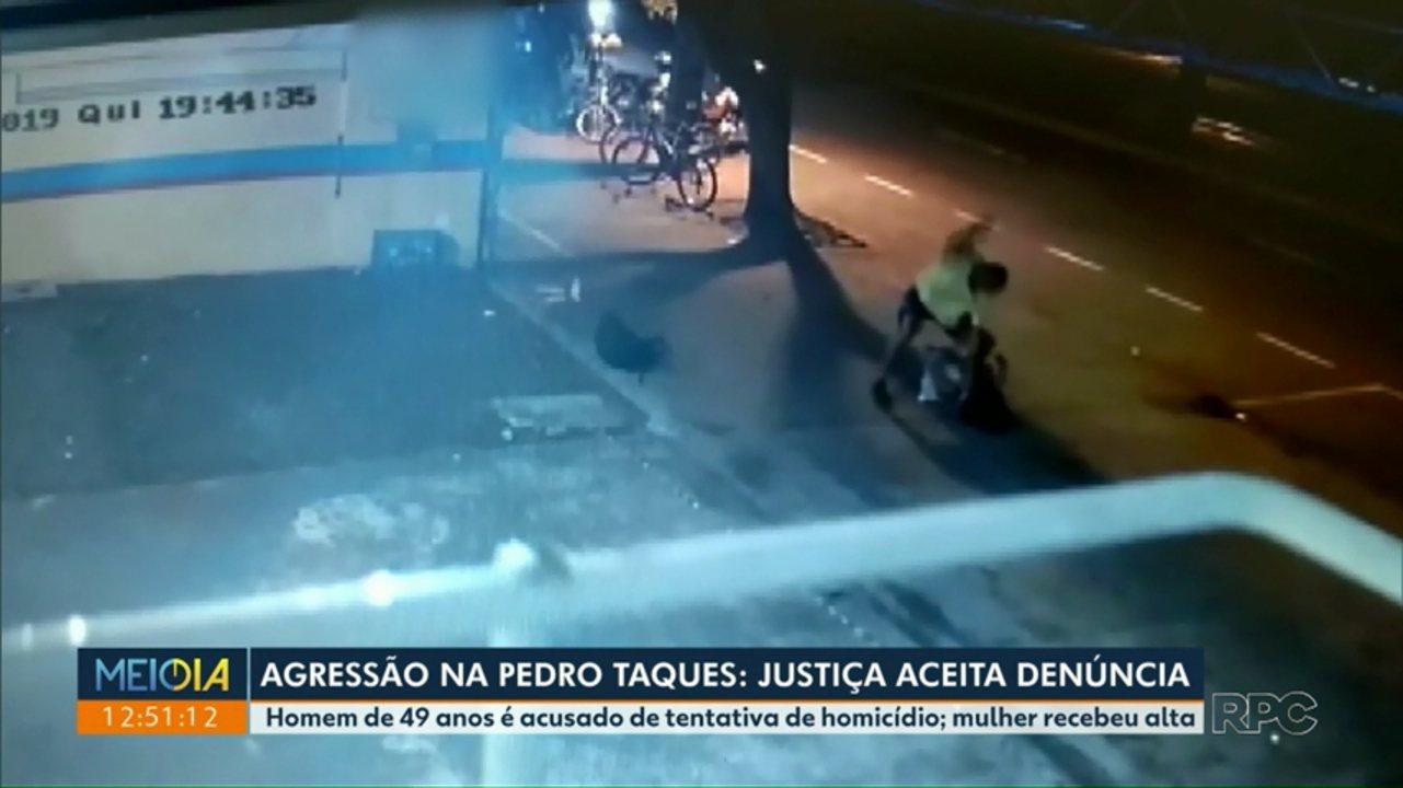 Agressão na Pedro Taques: Justiça aceita denúncia