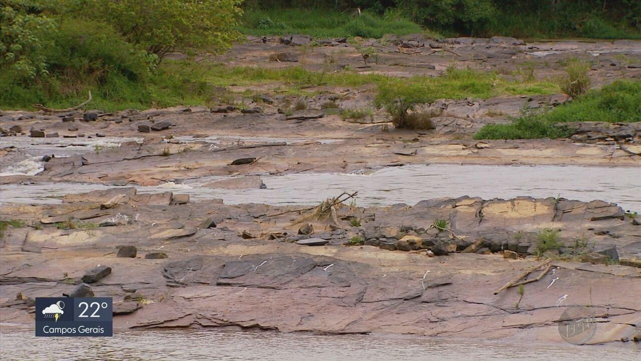 Baixo volume do Rio Verde preocupa moradores e comerciantes de Varginha