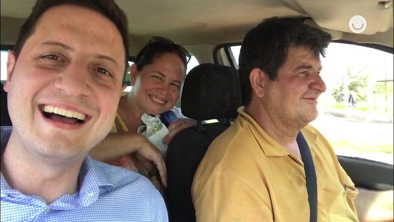 Participante do 'The Wall' no 'Caldeirão do Huck' mostra casa nova de Dona Elza