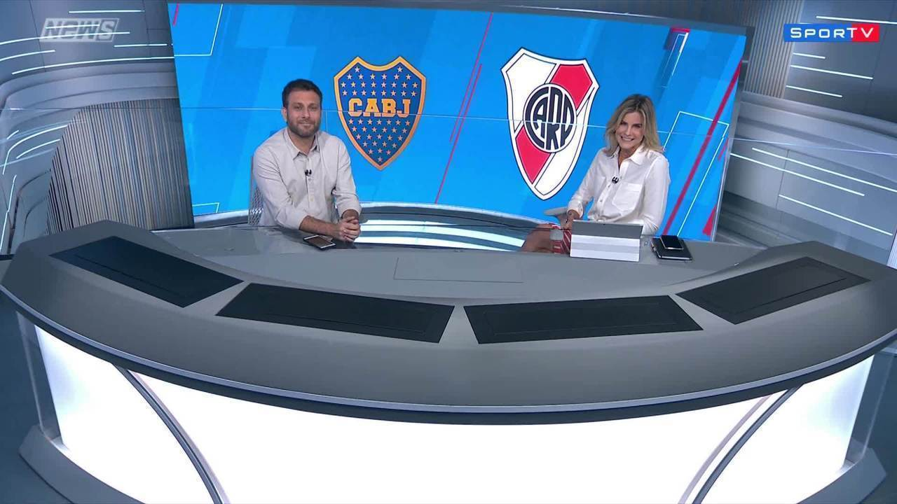 Comentaristas debatem sobre partida entre Boca e River