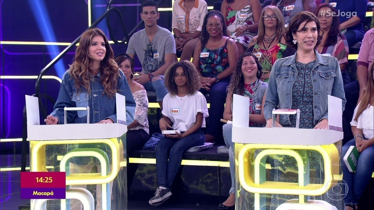 Maria Clara Gueiros e Mariana Santos brincam no 'Opinião Pública'