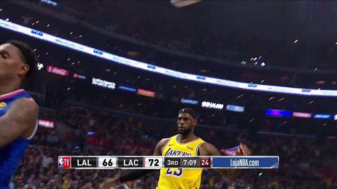 Melhores momentos de Los Angeles Clippers 112 x 102 Los Angeles Lakers pela NBA