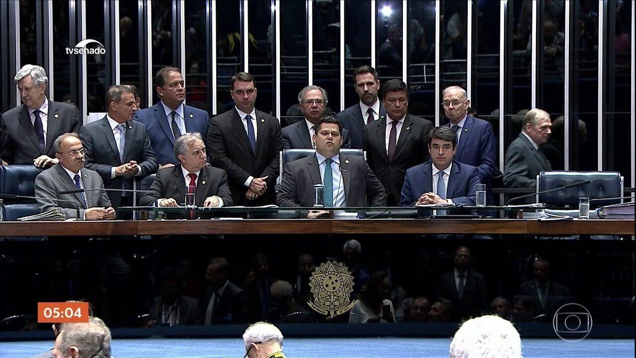 Senado se reúne para votar quatro destaques do projeto da reforma da Previdência