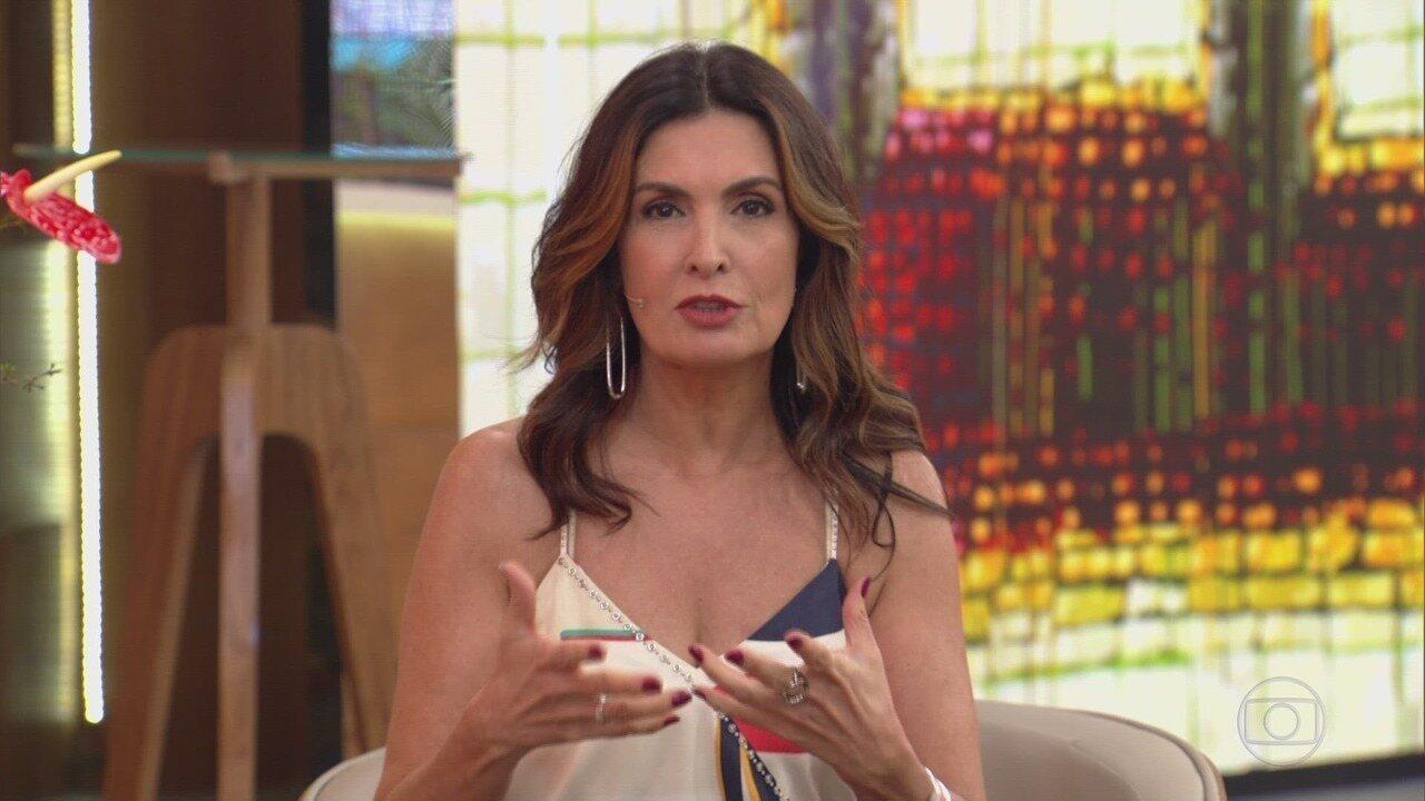 Programa de 23/10/2019 - A apresentadora Fátima Bernardes comanda o programa que mistura comportamento, prestação de serviço, informação, música, entretenimento e muita diversão.
