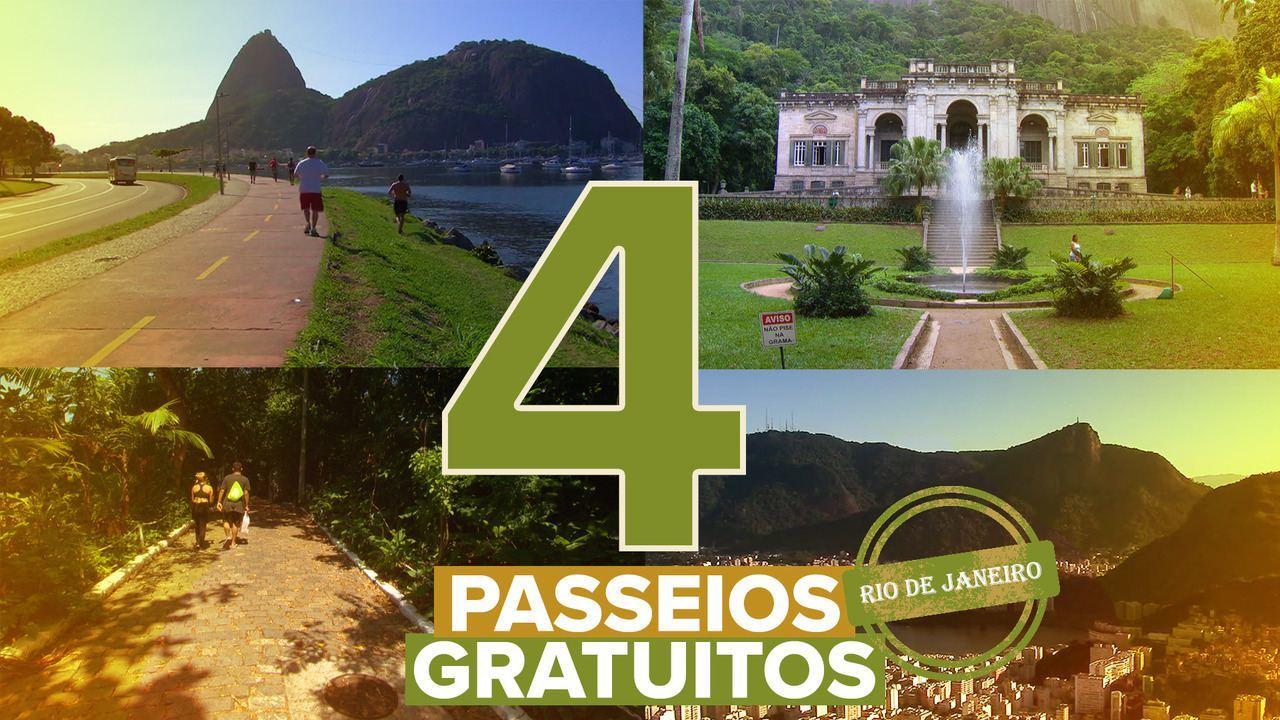 Veja quatro dicas de passeios gratuitos no Rio de Janeiro