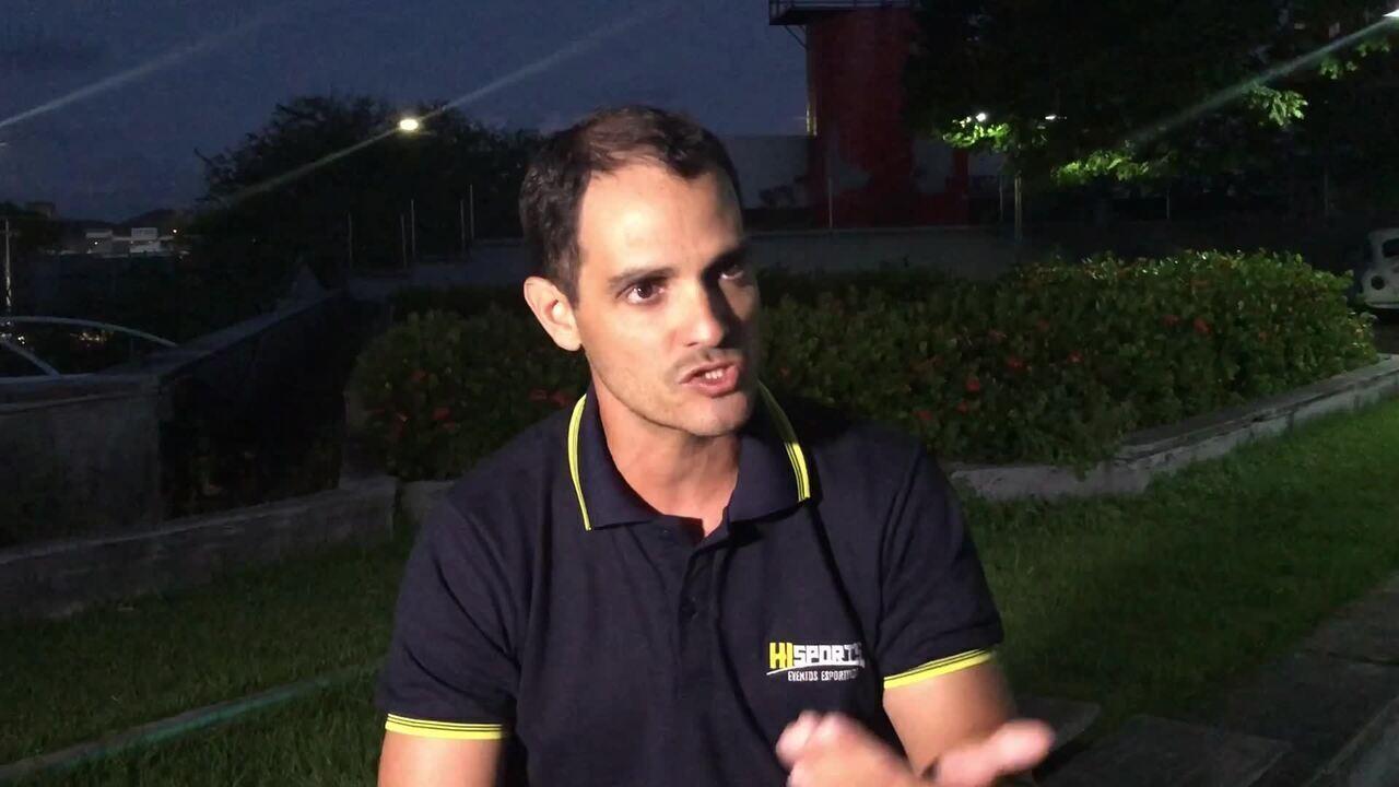 Organizador de corridas, Stenio Bezerra fala sobre recomendação do MP (IMAGENS: Augusto César Gomes)