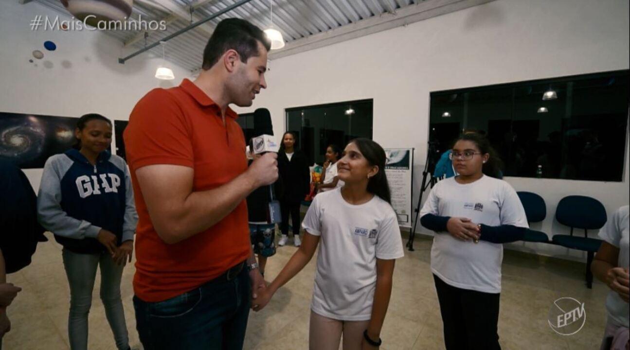Mais Caminhos visita o maior telescópio aberto do Brasil