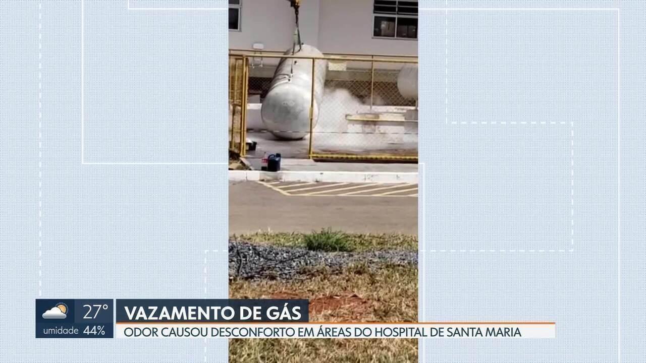 Vazamento de gás no hospital de Santa Maria assusta pacientes