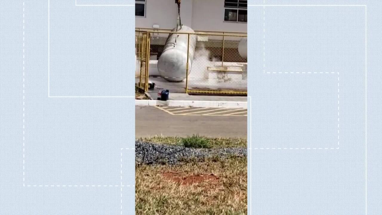 Vazamento de gás no Hospital de Santa Maria, no DF, assusta pacientes