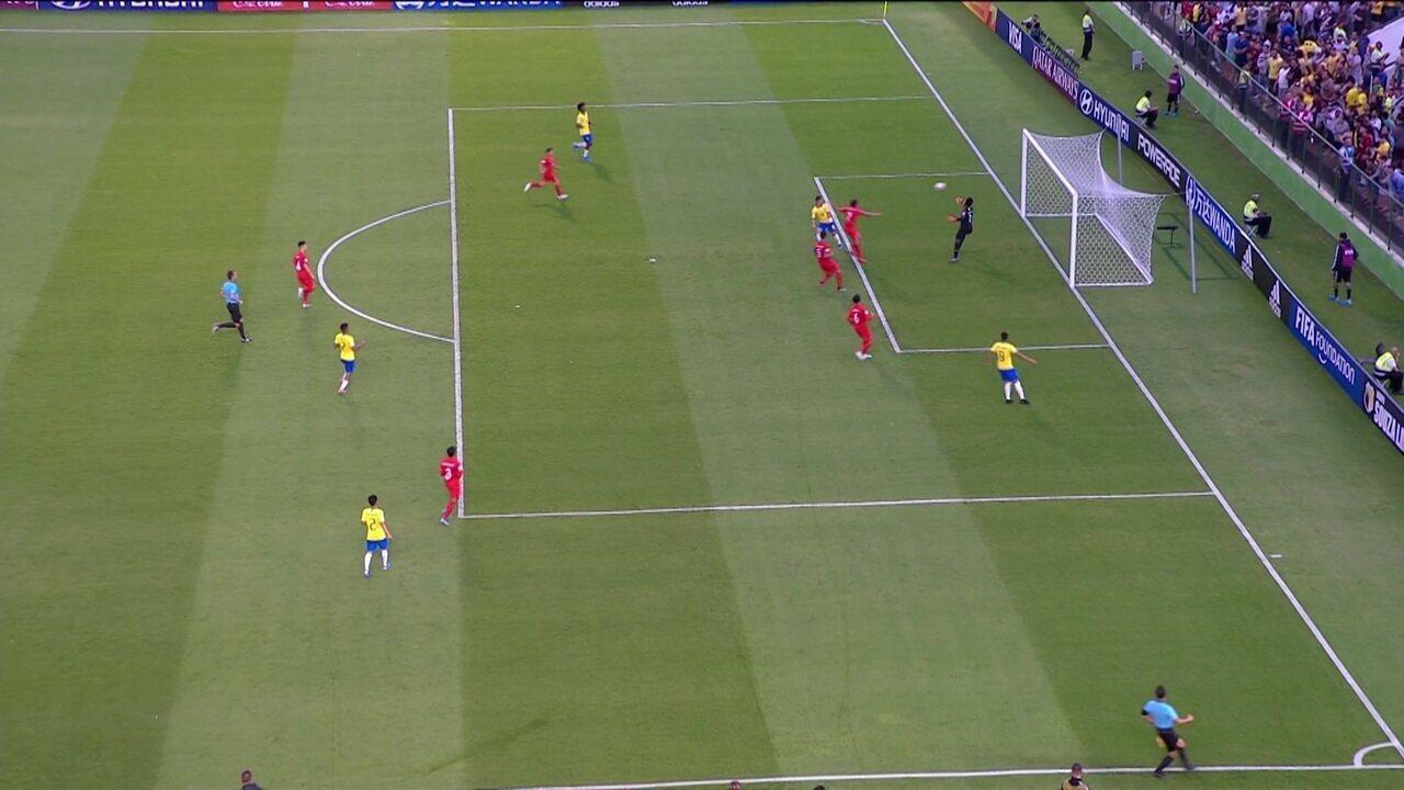 Melhores momentos de Brasil 4 x 1 Canadá pela Copa do Mundo Sub-17