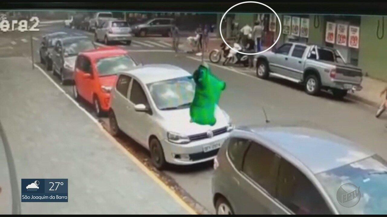 Idoso é agredido em Franca, SP, por homem que estacionou em vaga exclusiva