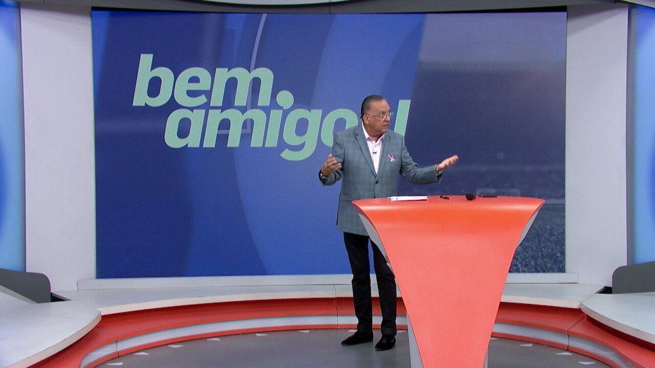 Galvão Bueno diz que o Flamengo é o Brasil na Libertadores
