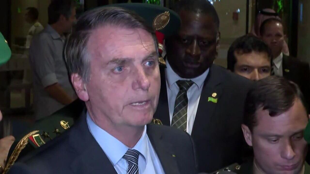 Viagem de Bolsonaro à Arábia Saudita busca atrair investimentos para o Brasil