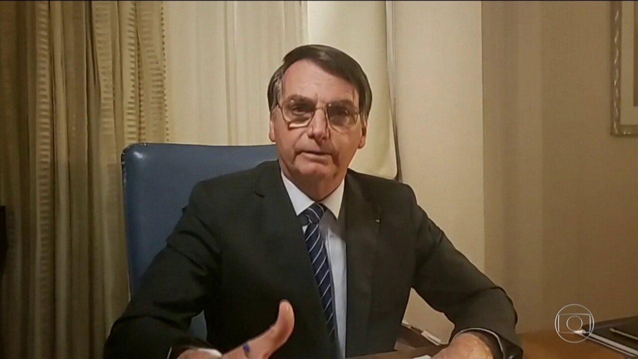 Bolsonaro refuta conteúdo dos depoimentos de porteiro no caso Marielle