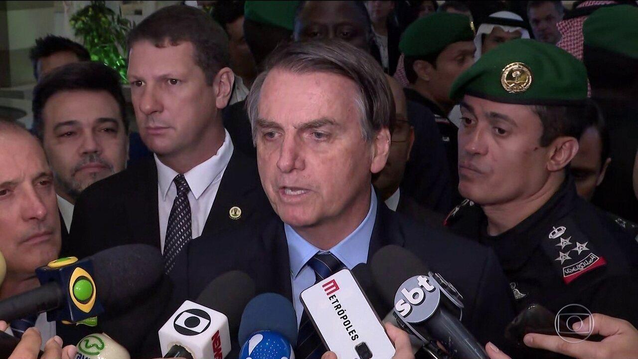 Jair Bolsonaro acusa governador Witzel de tentar prejudicá-lo