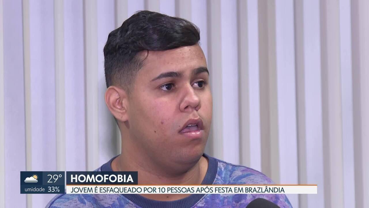 Jovem é vítima de homofobia e foi esfaqueado 17 vezes após festa em Brazlândia