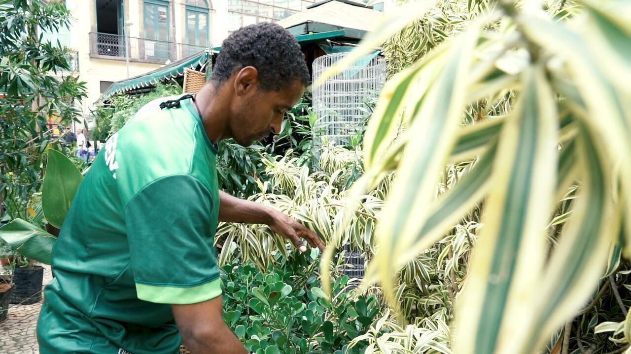 Jardineiro relata racismo sofrido em mercado no Rio