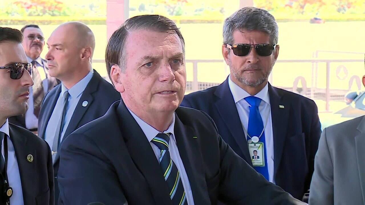 Bolsonaro diz que não irá à posse de Alberto Fernández