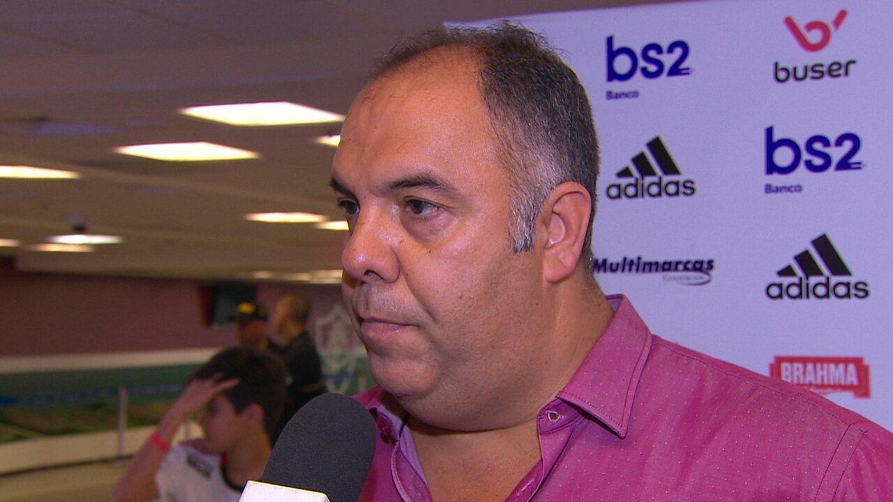 """Marcos Braz diz que Flamengo já se entendeu com a Inter de Milão e fez proposta para ter Gabigol em 2020: """"A bola tá com ele"""""""