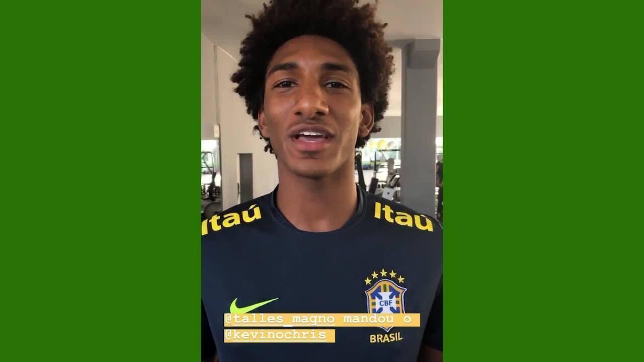 Trilha sonora da seleção sub-17: jovens do Brasil escolhem música para treino regenerativo