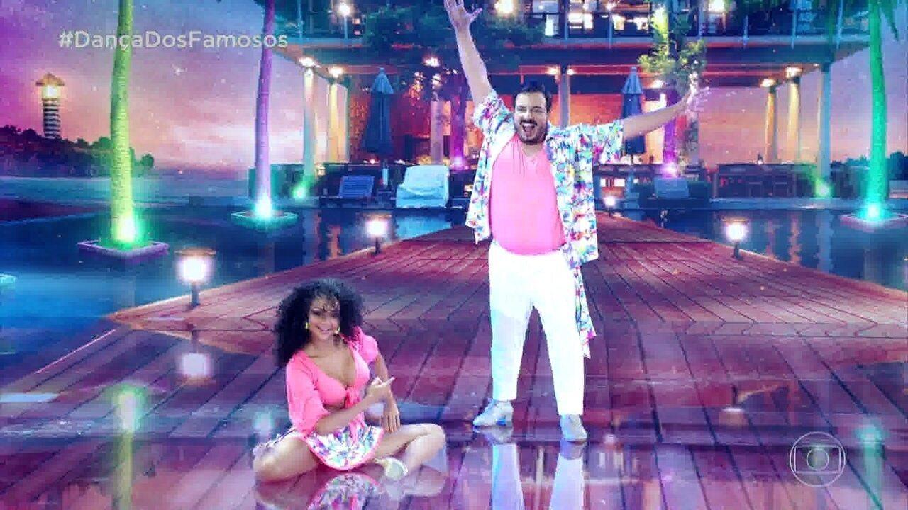 Luis Lobianco manda bem na lambada do 'Dança dos Famosos'