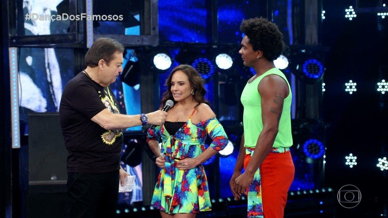 Veja a trajetória de Luiza Tomé no 'Dança dos Famosos'