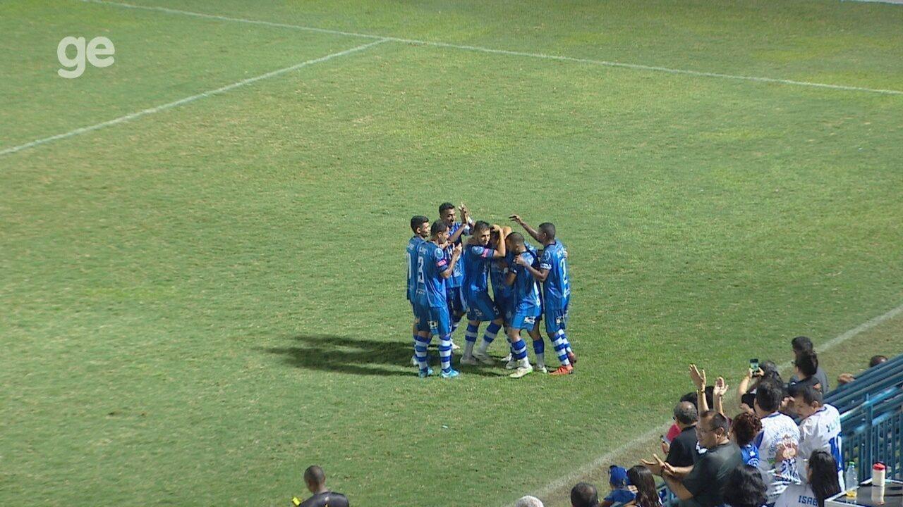 Veja os gols da vitória do São Raimundo por 2 a 1 sobre o Holanda-AM
