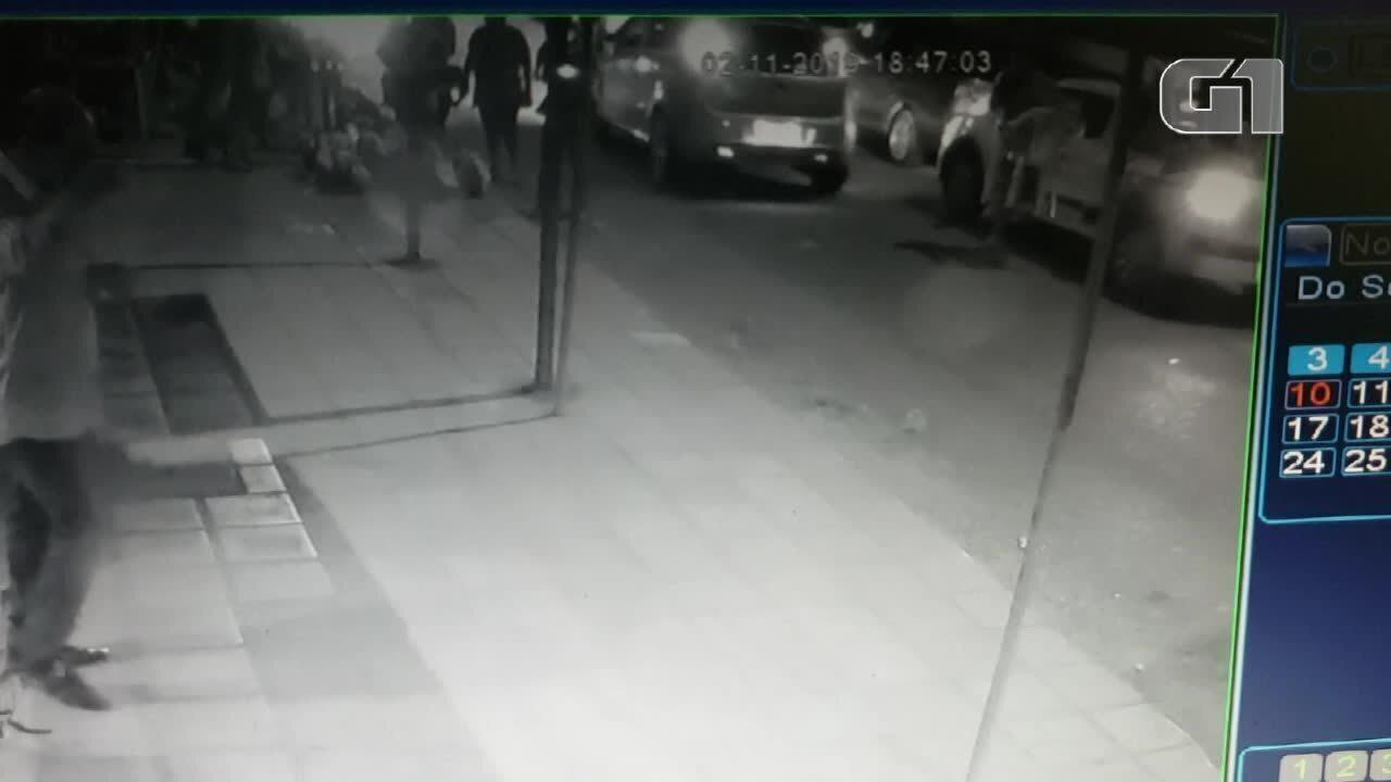 Vídeo mostra atropelamento em Parnamirim/RN