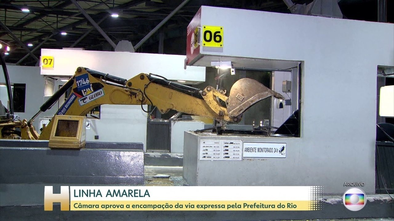 Câmara do Rio aprova projeto que prevê retomada da Linha Amarela pela Prefeitura