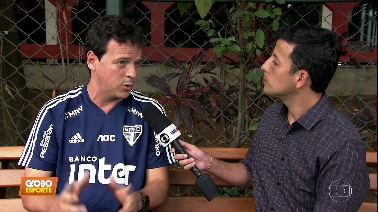 Fernando Diniz fala sobre o jogo do São Paulo contra seu ex-time, o Fluminense