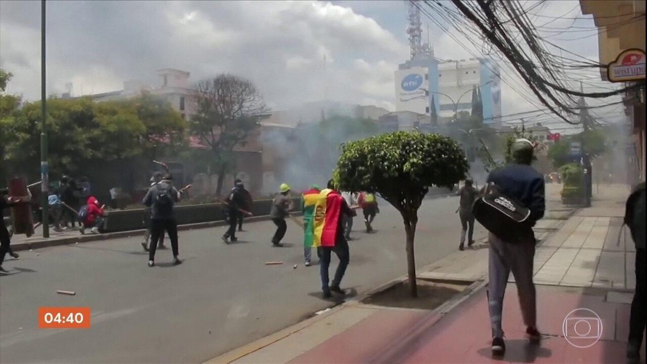 Protestos na Bolívia deixam um morto e pelo menos 20 pessoas feridas