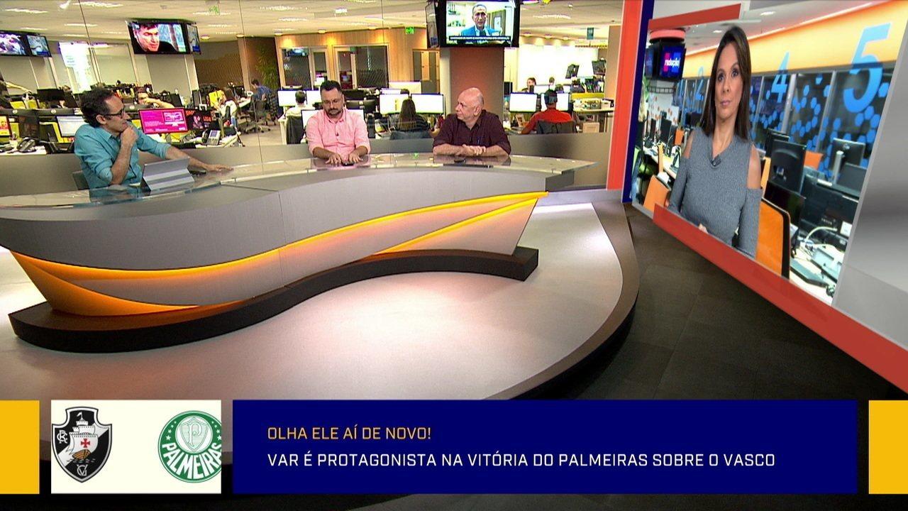Redação analisa vitória do Palmeiras sobre o Vasco