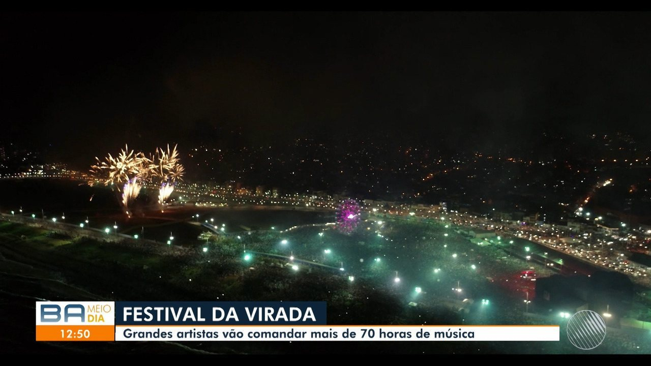 Atrações do verão e do Festival da Virada são divulgadas pelo prefeito de Salvador