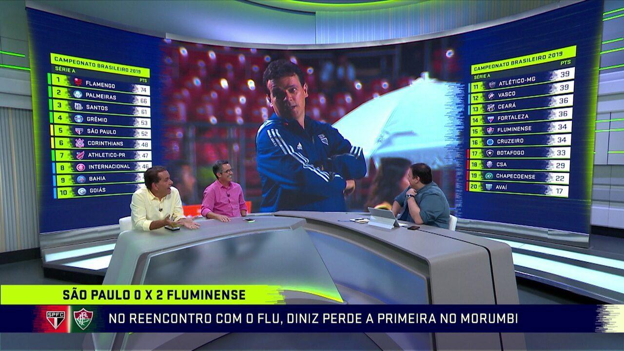 Jogadores do Fluminense e comentaristas elogiam trabalho do Fernando Diniz