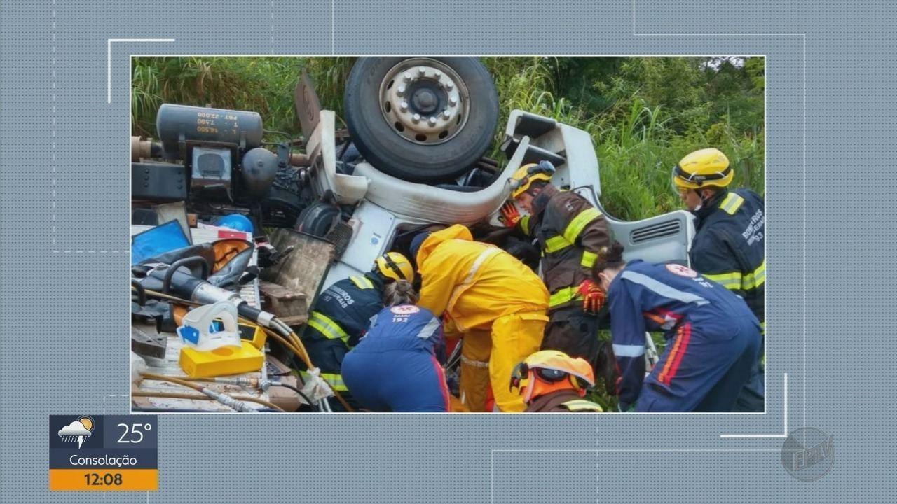 Acidentes deixam feridos nas estradas do Sul de Minas