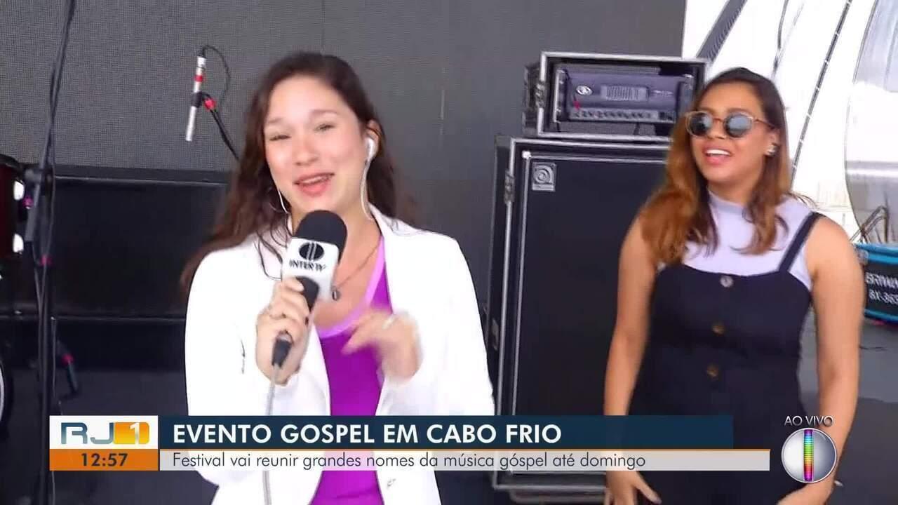 Festival vai reunir grandes nomes da música gospel até domingo