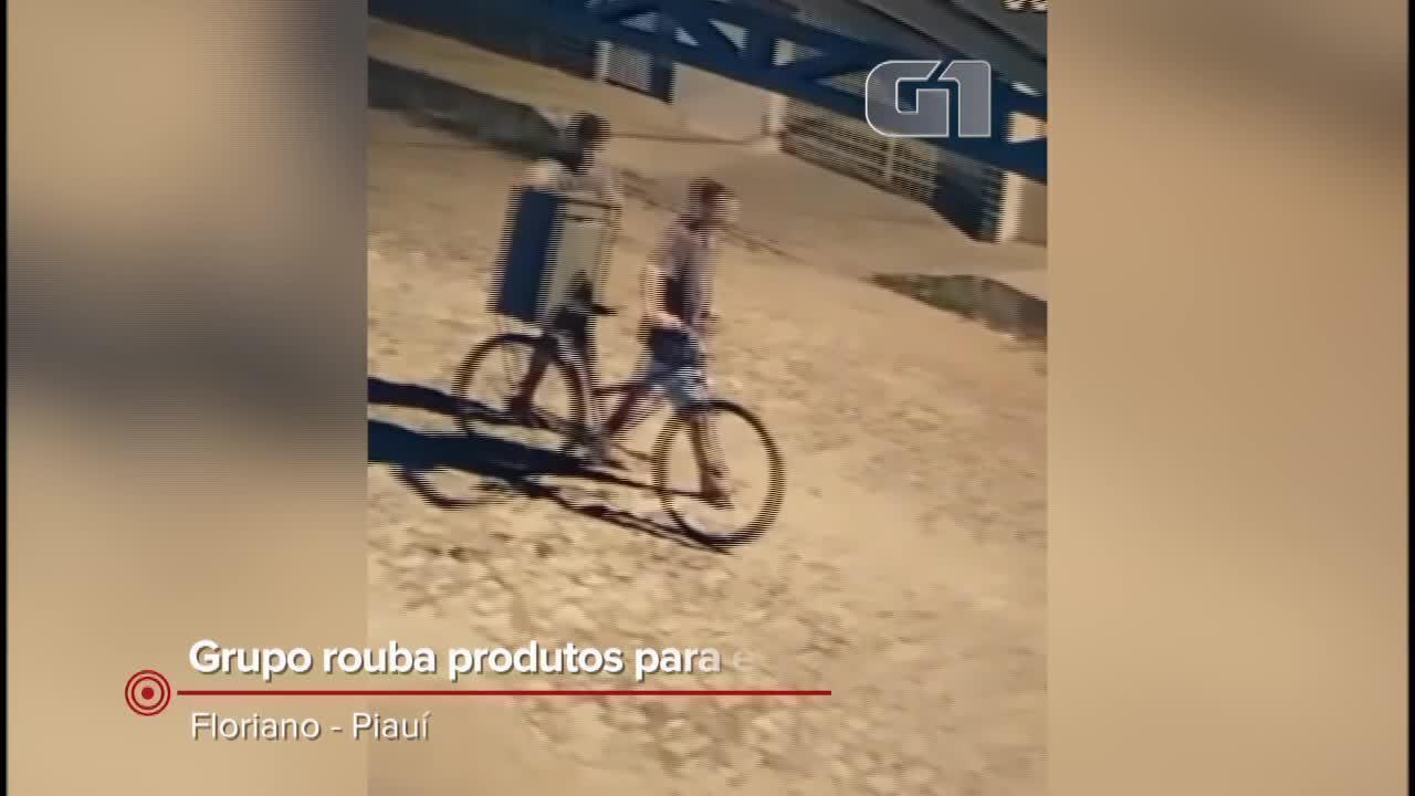 Grupo rouba produtos e equipamentos de evento beneficente em Floriano