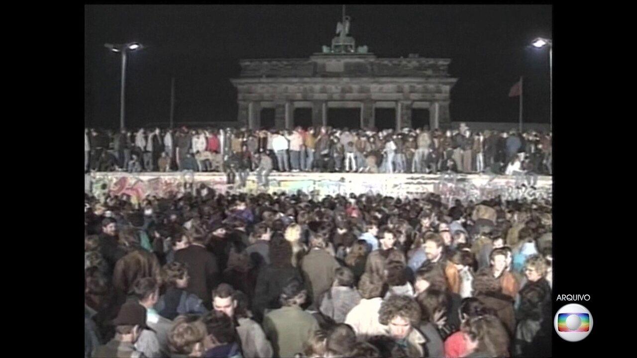 Queda do muro de Berlim vai completar 30 anos