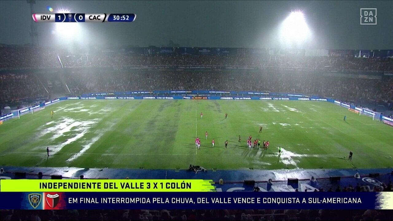 Mesa do Troca de Passes comenta conquista do Del Valle na Sul-Americana em jogo interrompido pela chuva