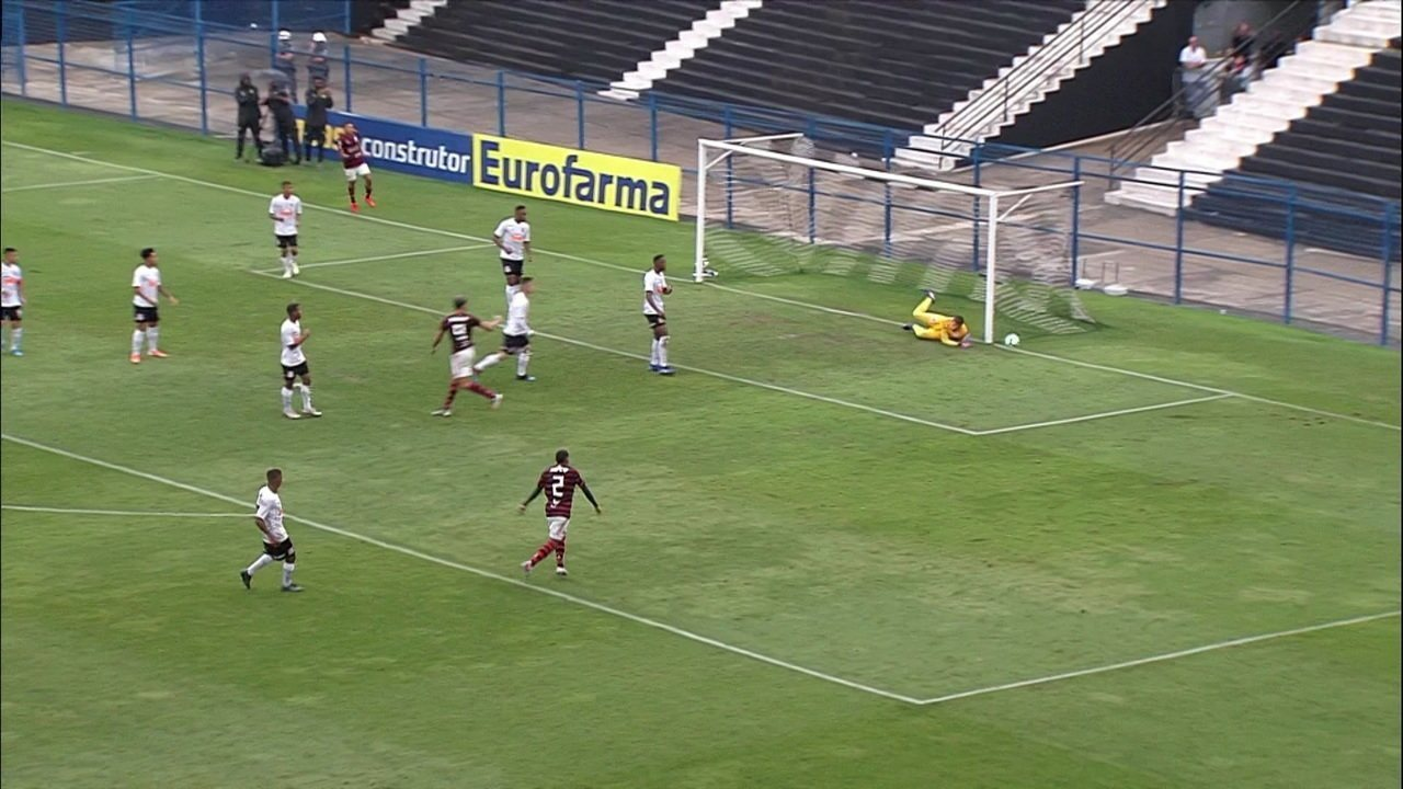 Melhores momentos de Corinthians 1 x 2 Flamengo pela semifinal do Campeonato Brasileiro Sub-20