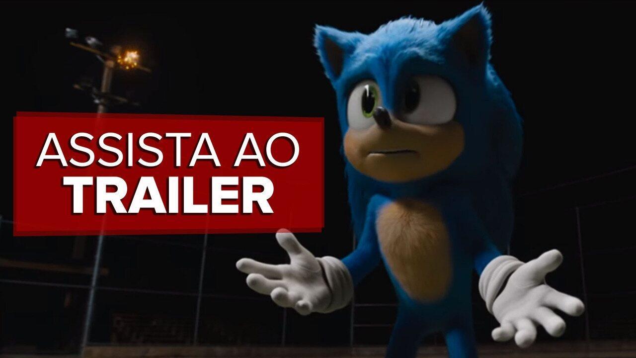 Assista ao trailer de 'Sonic - O Filme'
