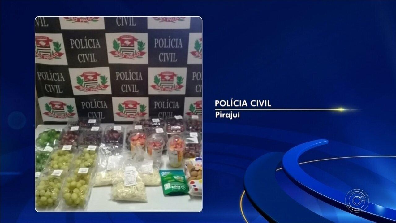 Gerente é preso após fiscalização encontrar alimentos vencidos em supermercado de Pirajuí
