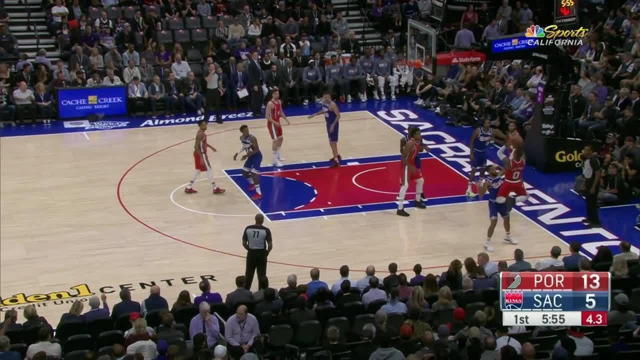 Melhores momentos: Sacramento Kings 107 x Portland Trail Blazers, pela NBA