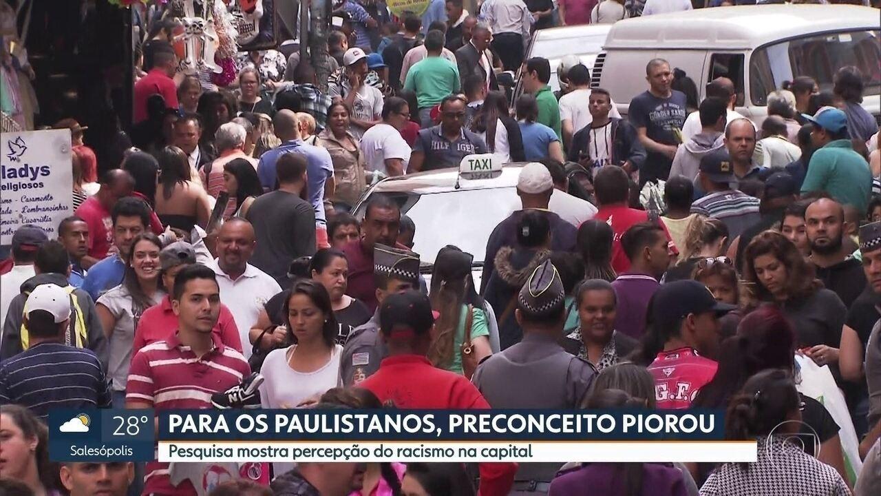 Pesquisa revela desigualdade racial no estado de São Paulo
