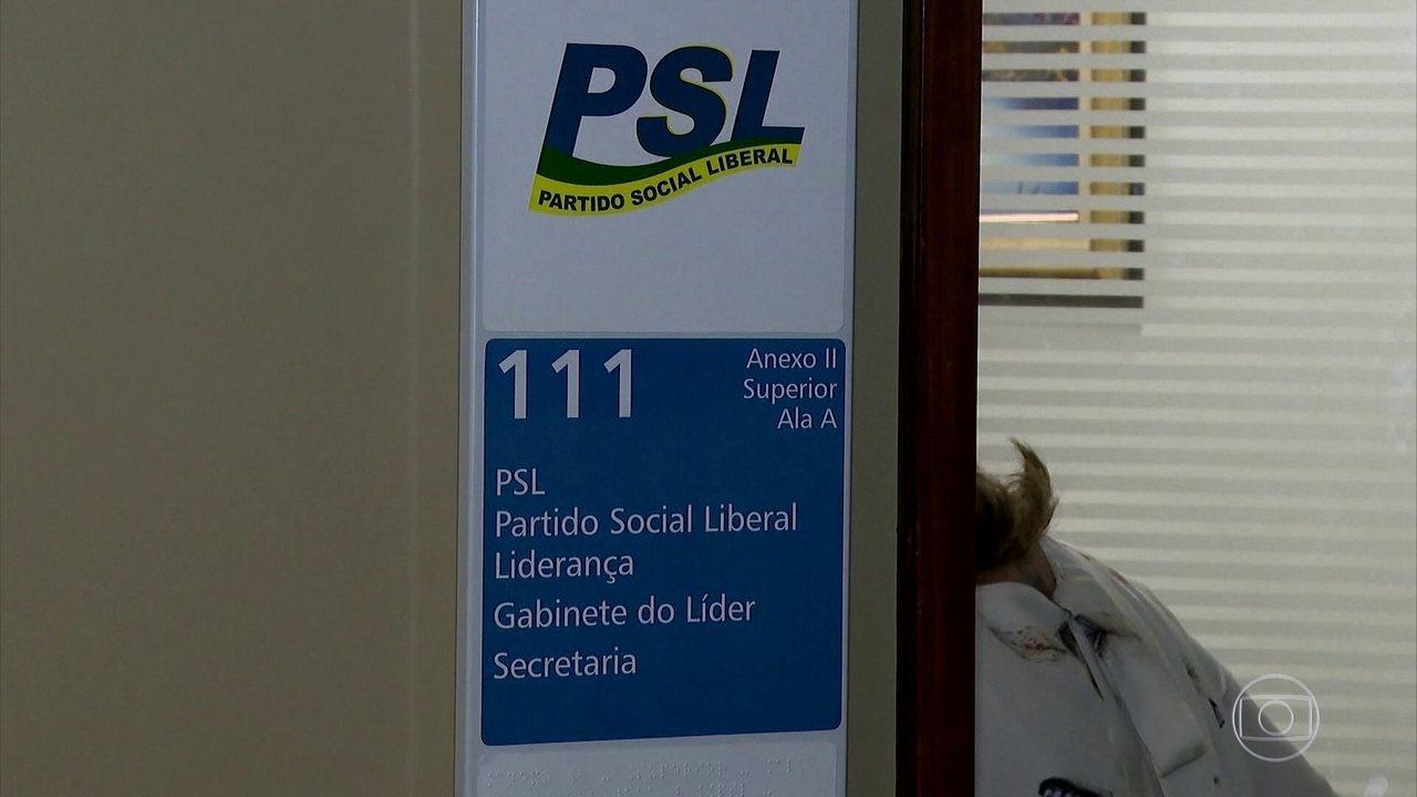 Presidente Bolsonaro deixa PSL e anuncia a criação de novo partido