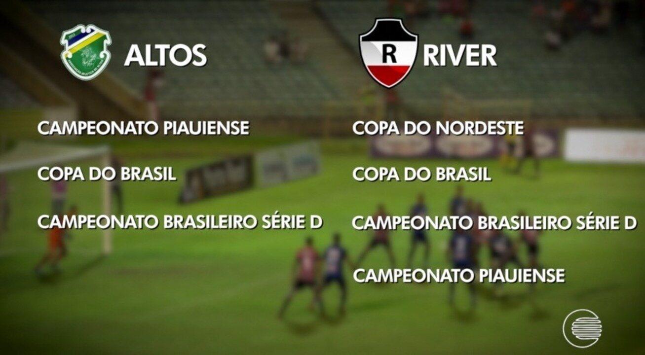 River-PI e Altos disputam reforços para temporada 2020