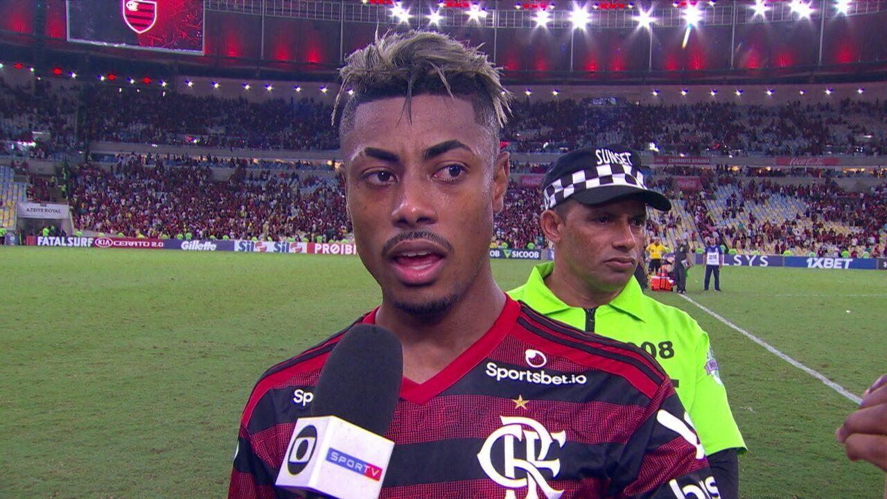 """Após empate, Bruno Henrique diz """"A equipe está de parabéns pelo desempenho"""""""